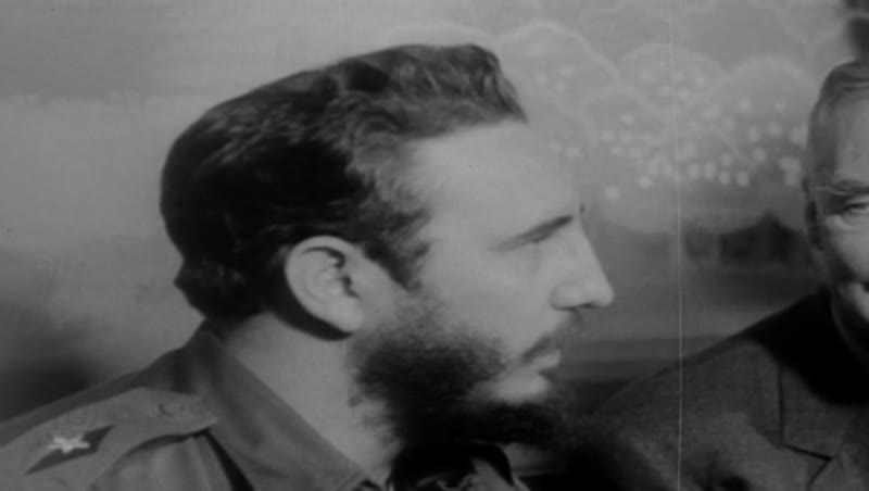 Fidel Castro meets with US Secretary of State, Christian A. Herter in Washington DC, 1959