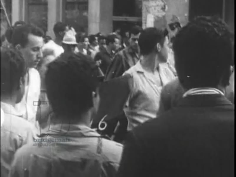 Castro supporters march through Havana, smashing gambling machines, students protest - Cuban Revolution, 1959
