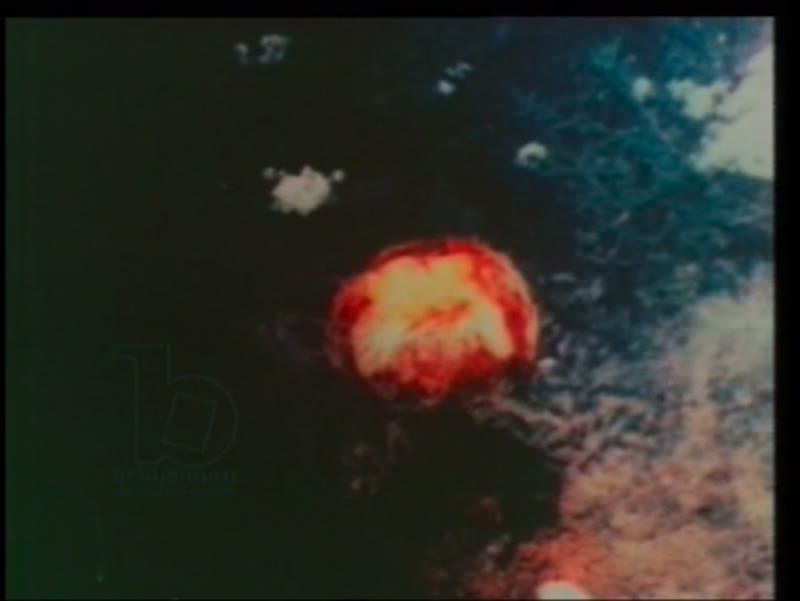 US B-29 bomber drops atomic bomb on Nagasaki, 9 August 1945
