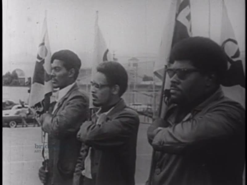 Black Panther Party rally at Hutton Memorial Park, Oakland, California, November 14th 1969