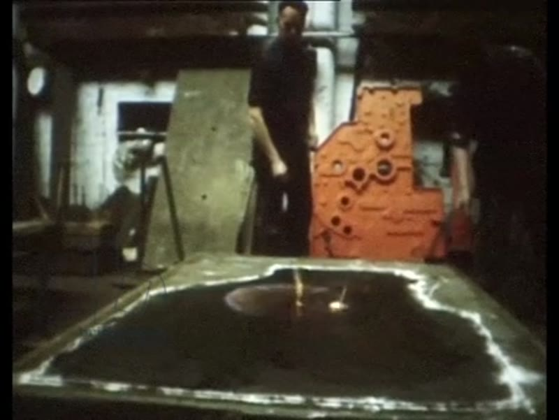 One of Our Own Kind part four - rural scenes and landmarks in Yorkshire, iron foundry, printing press. 1970