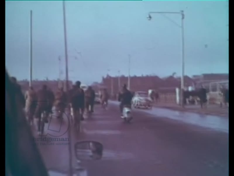 Birth of a Giant part two - man drives to the Vickers Shipbuilding company in Barrow-in-Furness, Cumbria, 1965
