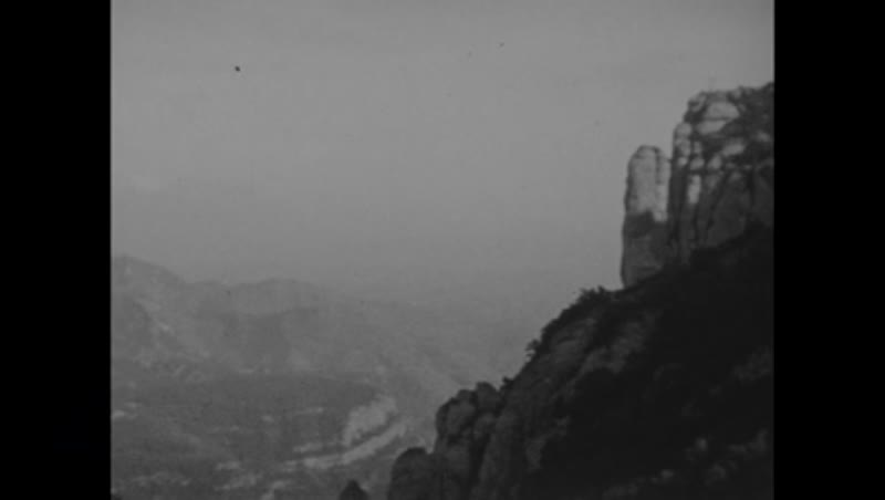 Travel footage from Mediterranean cruise 1933 - hills and cliffs, location unknown, possibly Algeria
