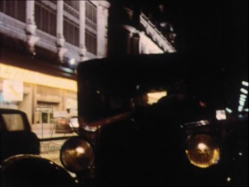 Paris at night, streets, landmarks, cancan dancers, 1970s
