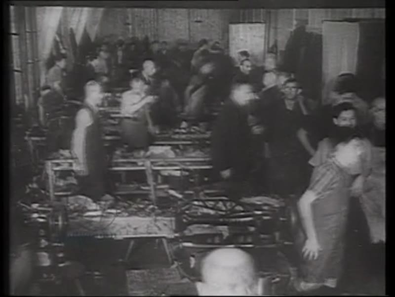 Nazi propaganda documentary of Theresienstadt concentration camp