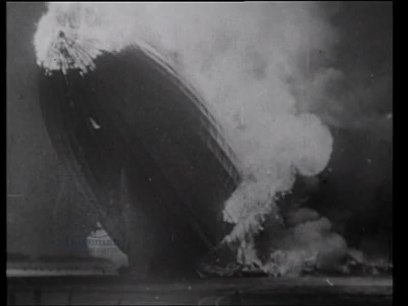 Hindenburg disaster, 1937