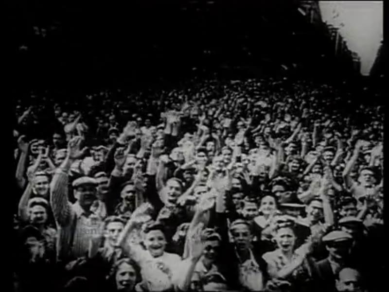 Churchill's victory celebrations, 1945