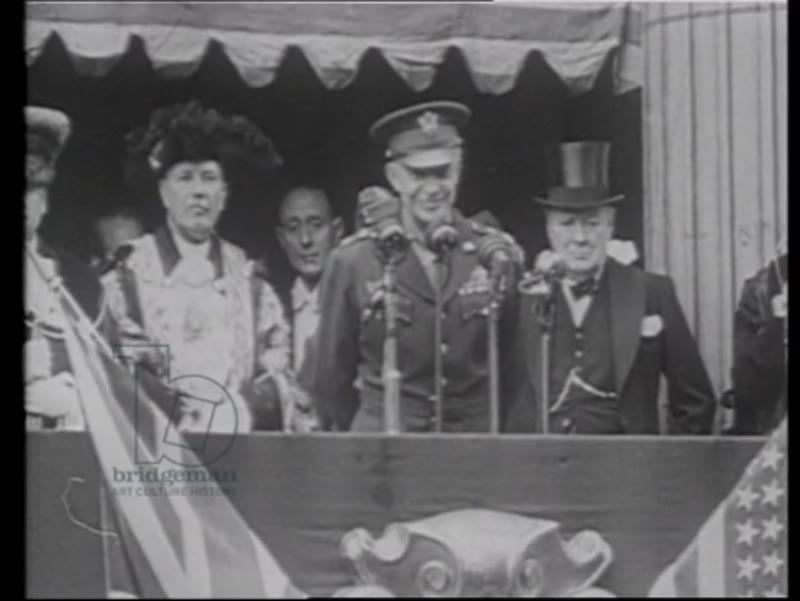 Churchill with US Navy, 1940s