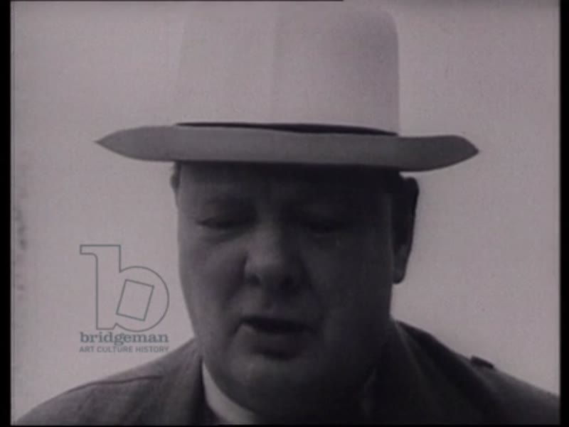 Churchill's speech on WWII and liberation