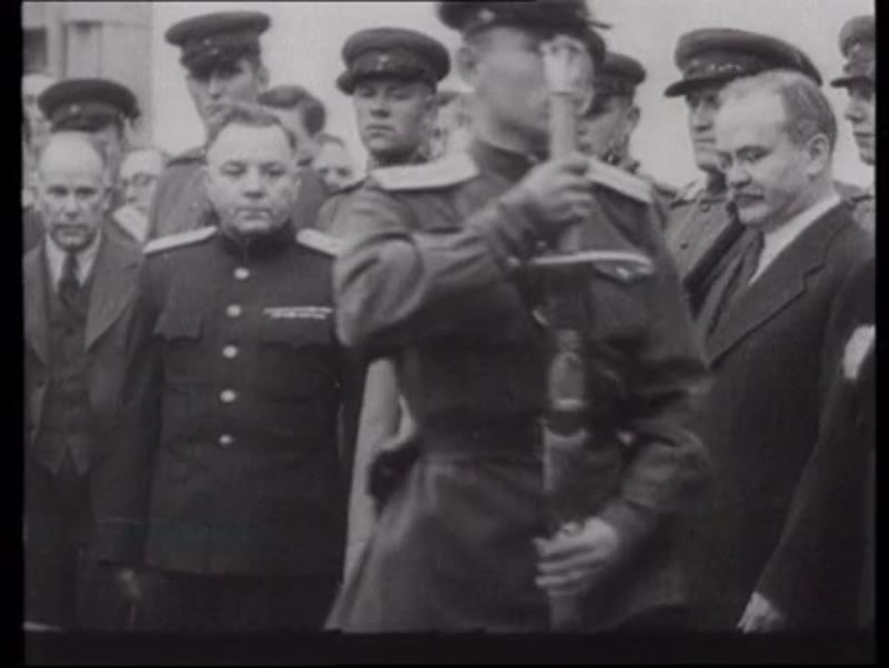 Churchill with other world leaders in North Africa and Iran, 1943