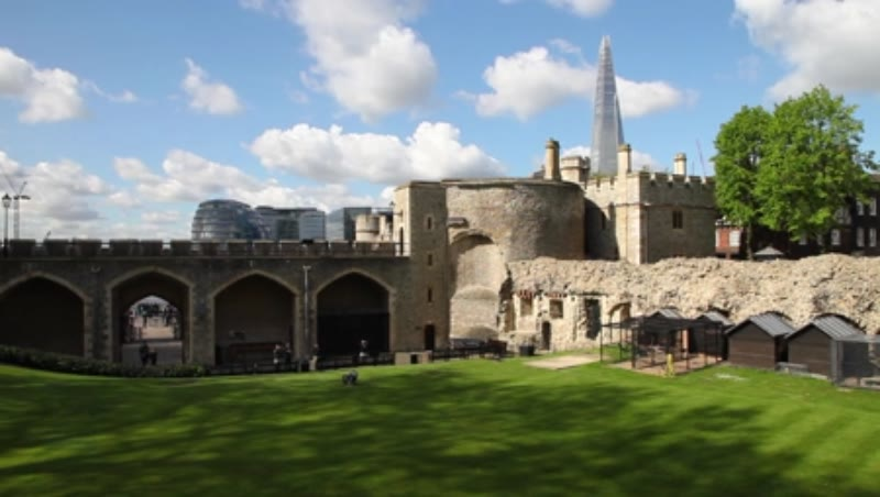Wakefield Tower at the Tower of London, clip 1