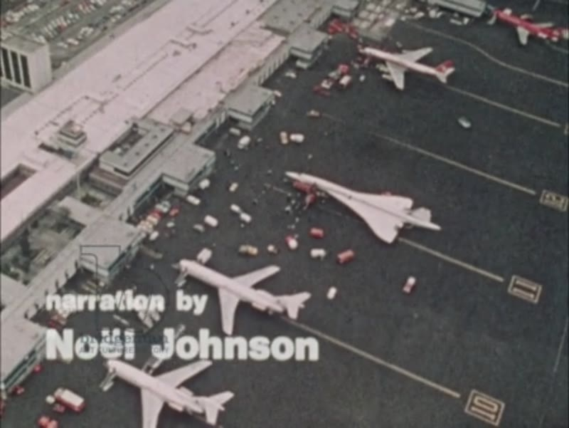 Supersonic Preview part 1 - the Concorde shown on the runways of various international airports, c.1976