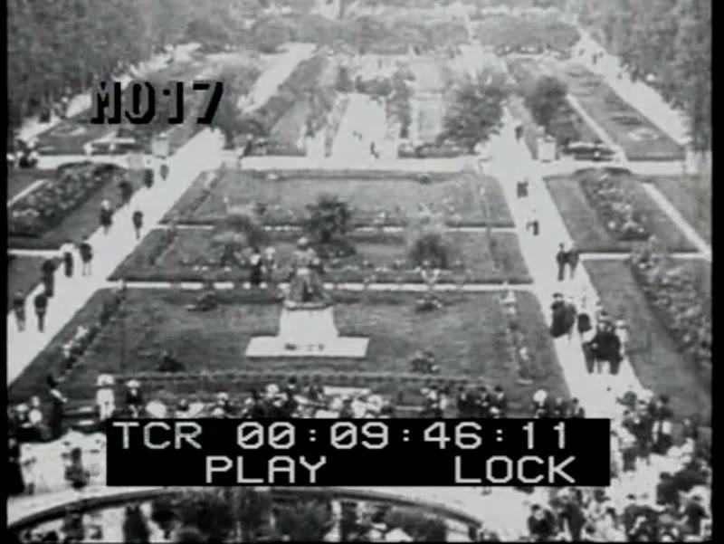 Entertaining events in Paris c.1900 - elephant parade, Buffalo Bill Wild West Show, concert in the Jardin des Plantes