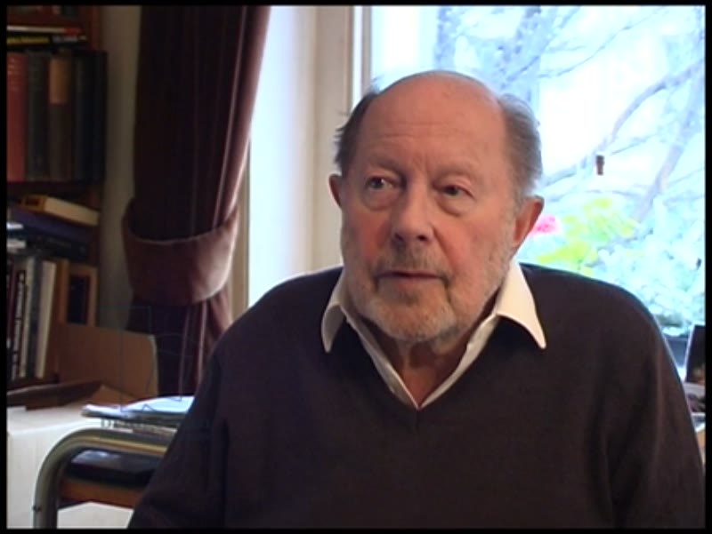 Nicolas Roeg discusses sex and censorship in film and art. Mentions his 2007 film 'Puffball'