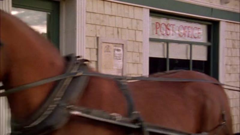 Village post office, 1908 - reenactment