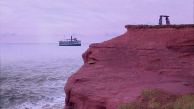 Ship sailing to shore, clip 2