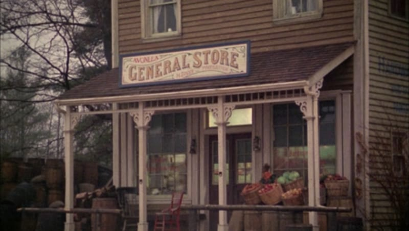 General store in town, 1908 - reenactment