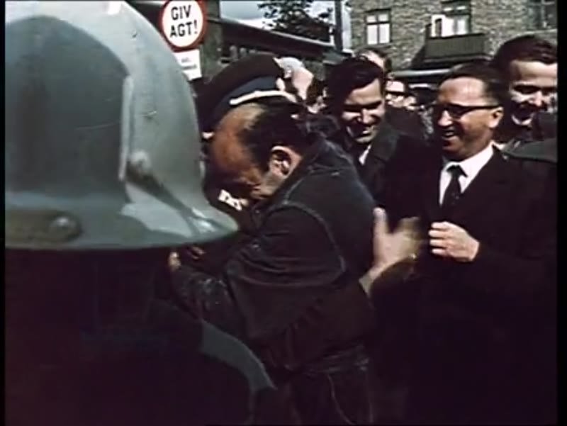 Yuri Gagarin, the 1st man in space, tours the world in 1961. He is welcomed by crowds of fans in Europe, Egypt and Japan.