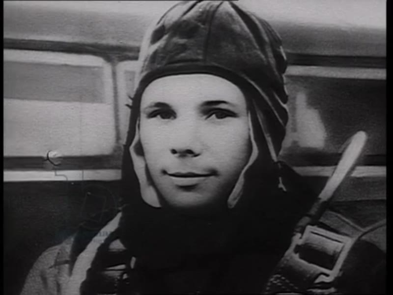 House where Yuri Gagarin used to live, generic footage of the Soviet Union, Siberia. 1960s