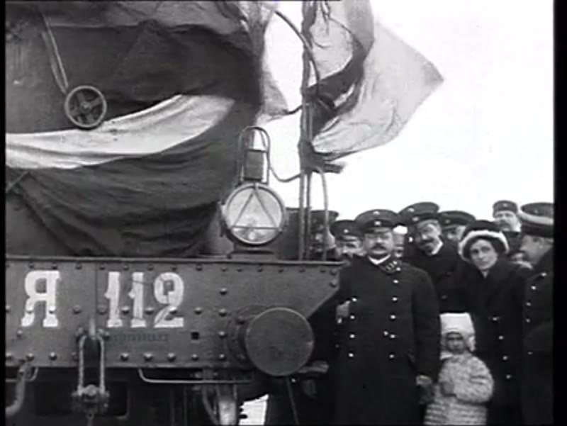 The Trans-Siberian Railway inauguration, Russia, 1913