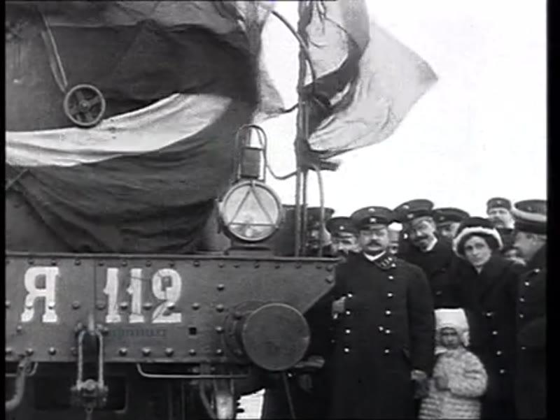 The Trans-Siberian Railway inauguration, Russia, 1913