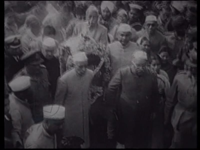 Independence in India 15 August 1947, and the assassination of Gandhi January 30 1948