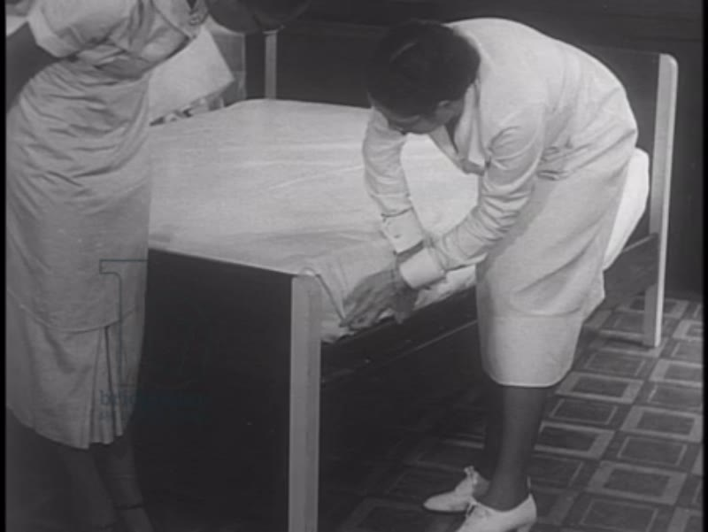 We  Work Again, part 5 - 1937, African-American are trained in housekeeping and healthcare, employed as part of the WPA