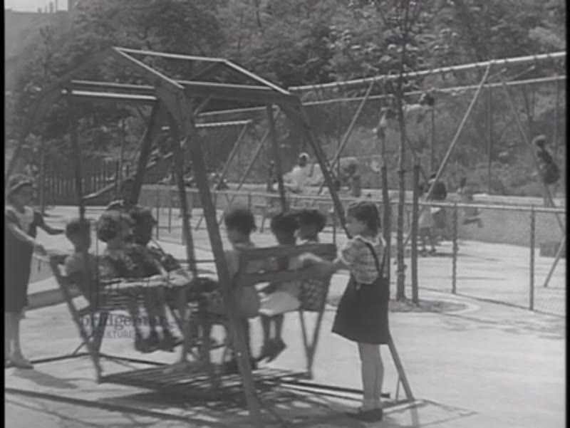 We  Work Again, part 3 - 1937, the African-American community's leisure and childcare facilities in New York City as a result of the WPA