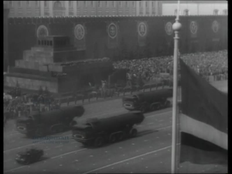 May Day parade in Moscow's Red Square, 1963