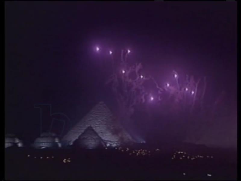 Millennium celebrations around the world, countdown to midnight on December 31st 1999. London, Sydney, Paris, Egypt, New York.