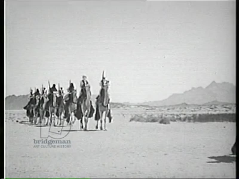 Charles de Foucauld, Tuareg village, Algeria 1957