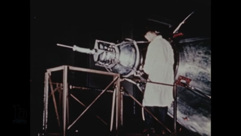Colour footage of Laika, the soviet space dog, in Sputnik 2, November 3 1957 (HD)