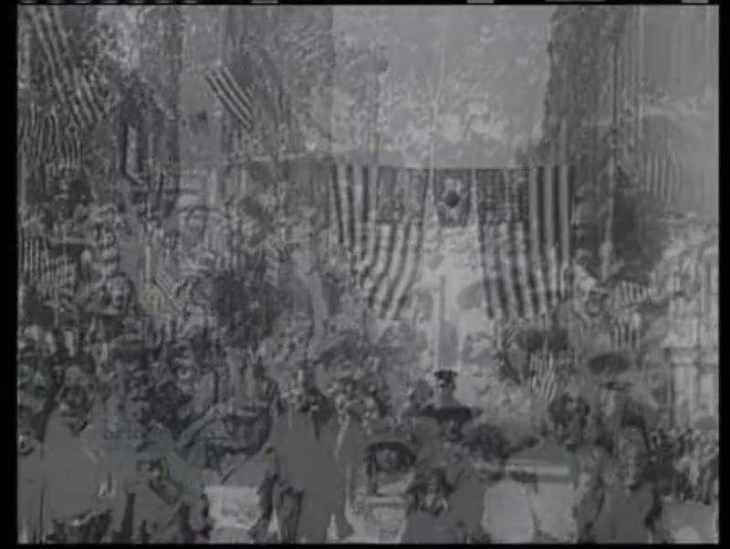 Great War is over - celebrations in streets, US troops return home