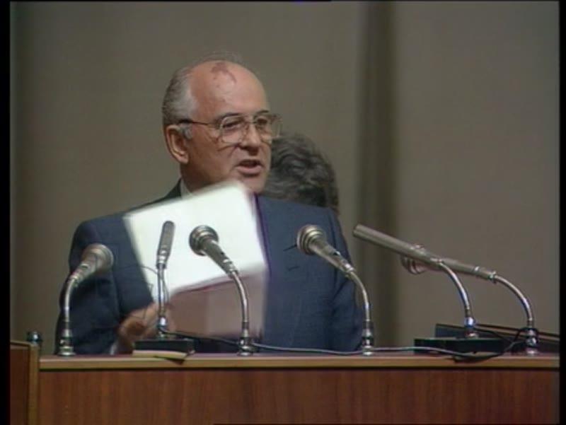 Russian Republic's Parliament, August 1991