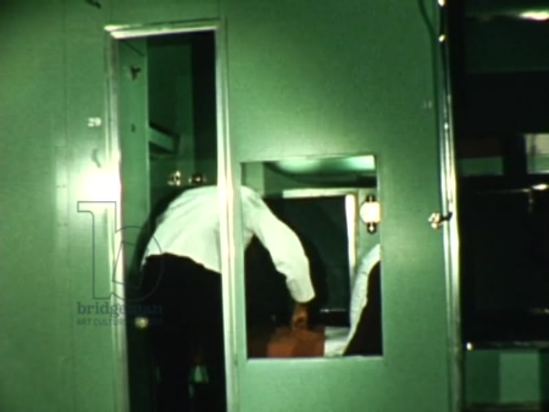 Pullman sleeper Train, Slumbercoach, c.1950s