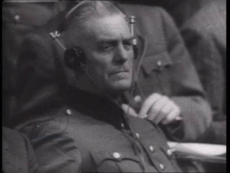 The Nuremberg Trials, Germany, 1945