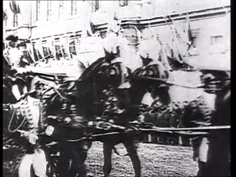 Coronation of Tsar Nicholas II, Moscow, 14 May 1896