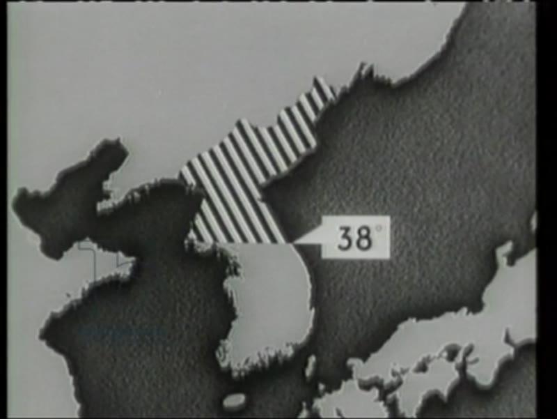 Riots in Souh Korea, 38th Parallel established, Kim Il Sung's government, 1948