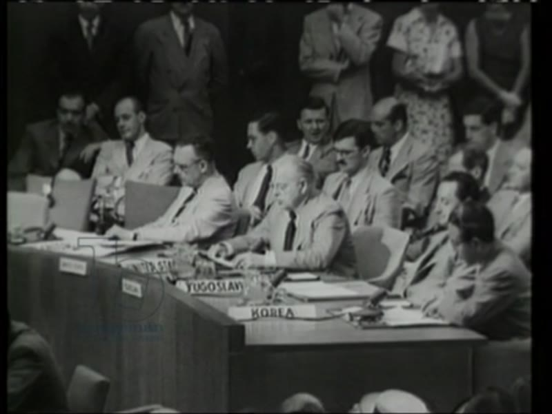 United Nations conference, UN resolution against North Korea, 1950