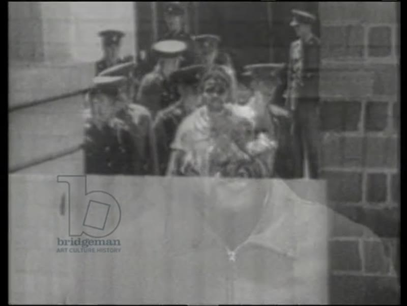 Mandela released from prison in 1990 and speaking against apartheid in his first television interview in 1961