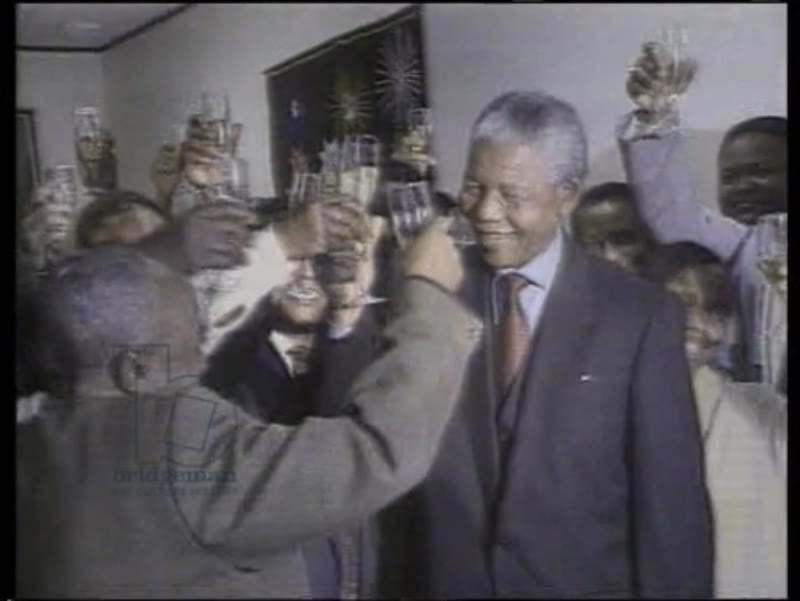 Nelson Mandela is awarded the Nobel Peace Prize in Norway, 1993