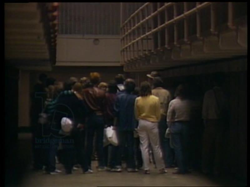 Tourist Boom At Alcatraz Prison, 1983