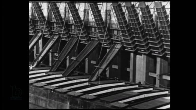 Iron Ore Extraction in the Mesabi Iron Range, Minnesota, USA, 1923-1932, clip 1