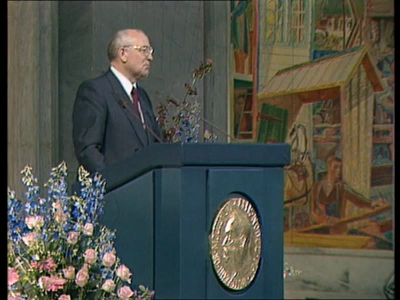 Mikhail Gorbachev's speech to CPSU on becoming president of USSR, March 11 1990
