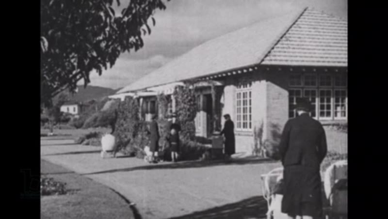 'A Nation Grows' 1940s NZ government feature on the Plunket Society (children's healthcare charity) part 4