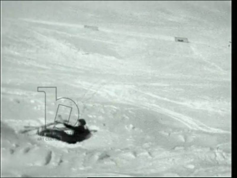 Skiing, St Moritz, 1927