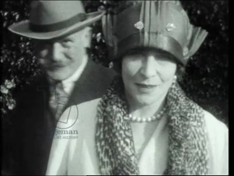 Philip and Lucy de László with Elinor Glyn