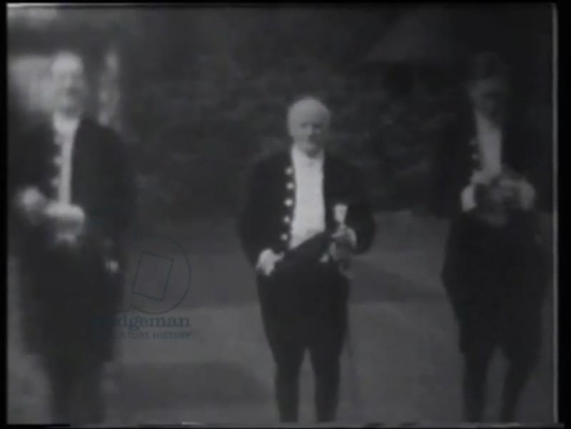 Philip, Henry and Patrick in court dress before going to a Levee at Buckingham Palace