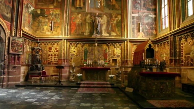 St. Vitus Cathedral, St. Wenceslas Chapel, Altar Tomb, Grave