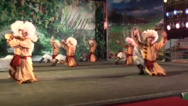 Traditional Dance, Urumqi, China